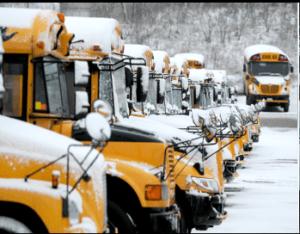 School bus block heater controller